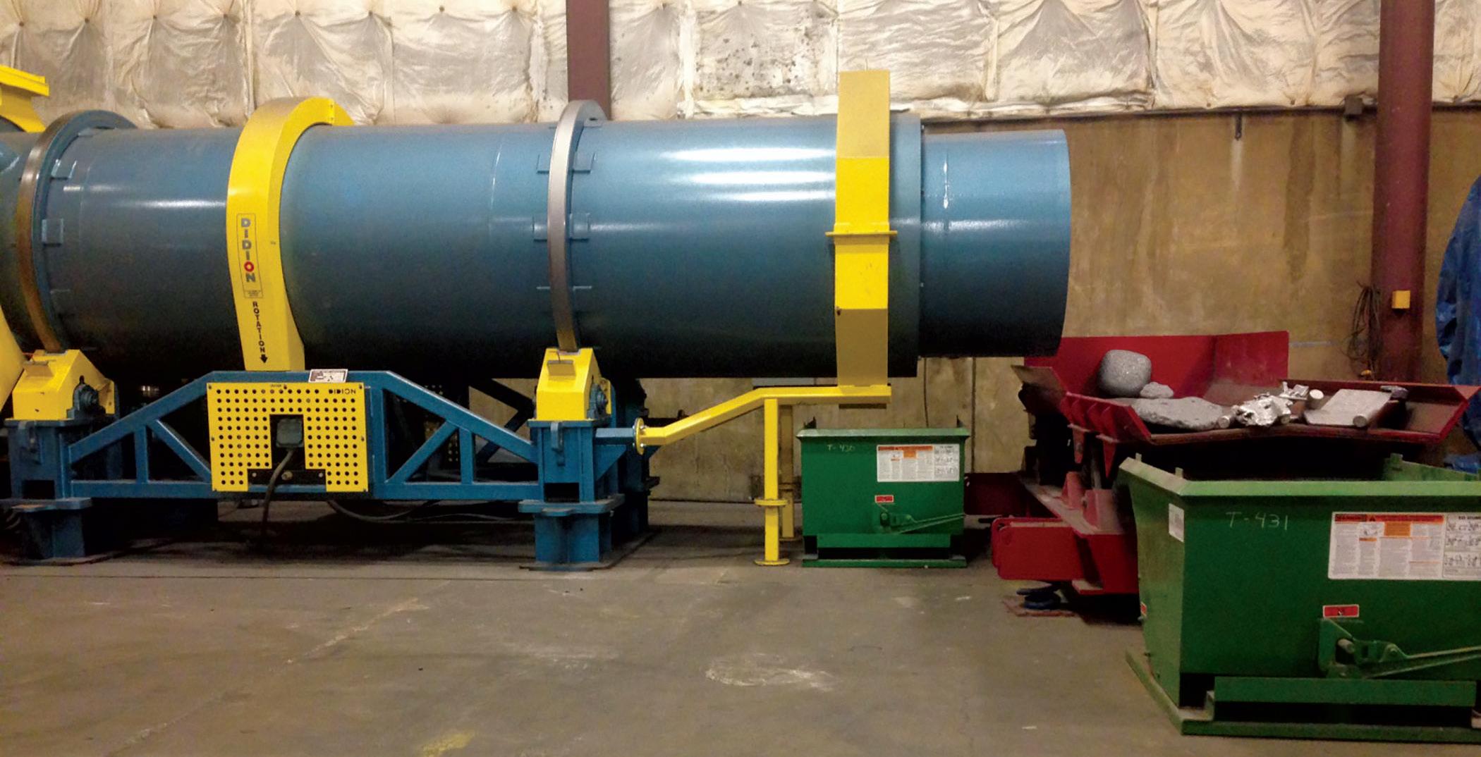 Sand And Slag Separator : Metal recovery increases savings